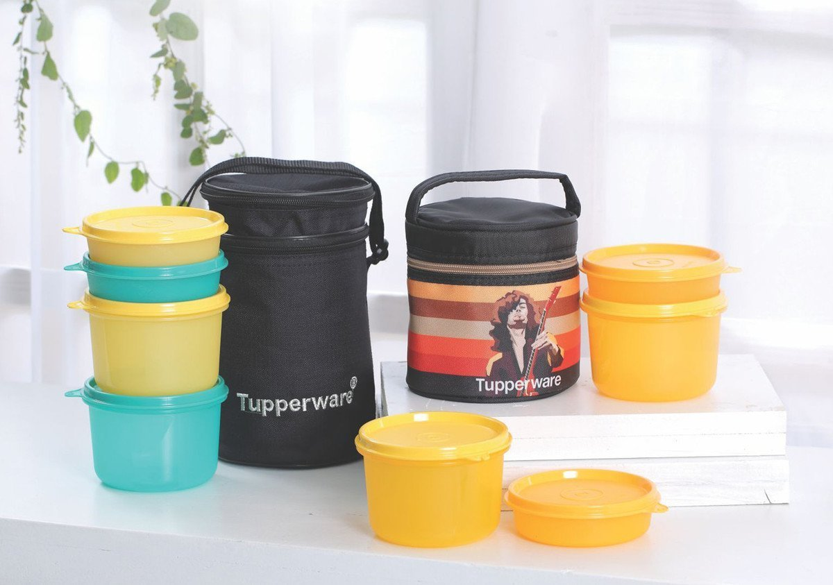 Tupperware Lunch N Outdoor Box Set Combo Offer Bring Your Own Health Personal Care