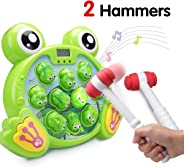 FS Interactive Whack A Frog Game, Durable Pounding Toy, Early Developmental Toy, Helps Fine Motor Skills, Great Gift for Age
