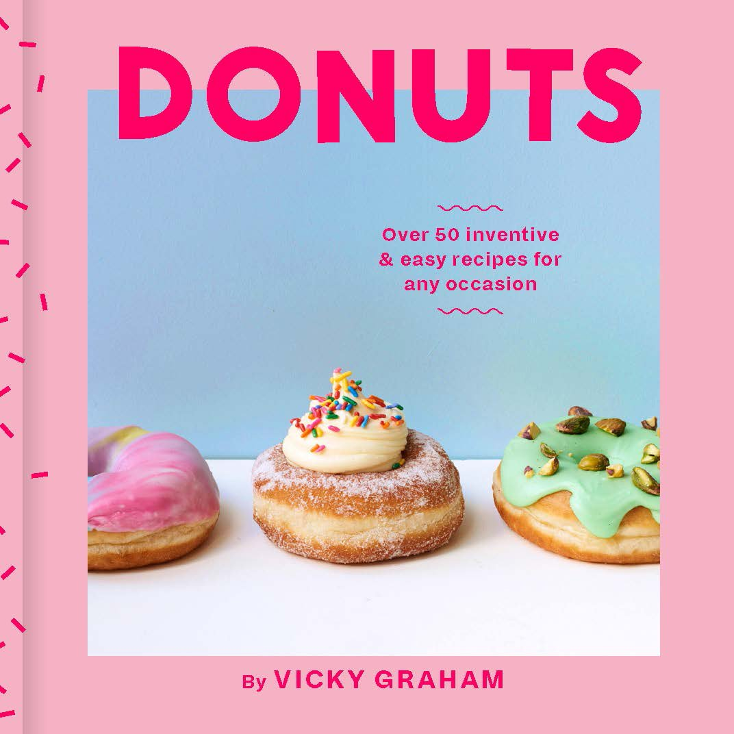 Donuts Over 50 Inventive And Easy Recipes For Any Occasion Amazon Jill Beauty Lip Matte 07 Violet Daisy Vicky Graham 9781784881467 Books