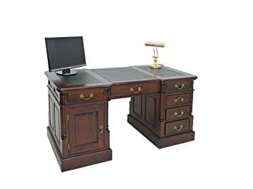 Schreibtisch holz antik for Schreibtisch amazon