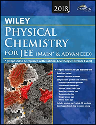 Buy Wiley's Physical Chemistry for JEE (Main & Advanced