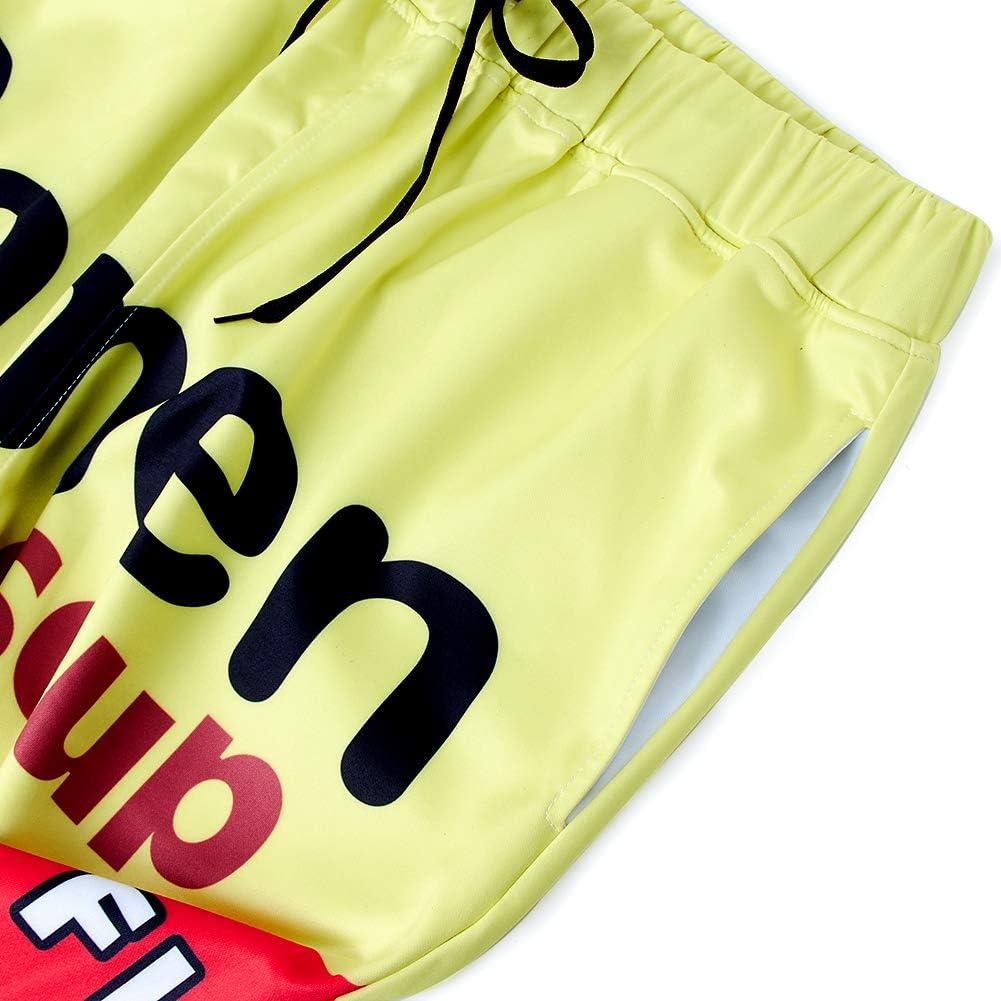 SKYRAINBOW Unisex Joggers 3D Novelty Ramen Pants Noodle Soup Gym Jogging Trouser with Pocket at  Men's Clothing store