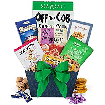 Amazon gluten free gift basket gourmet snacks and hors gluten free gift basket negle Choice Image
