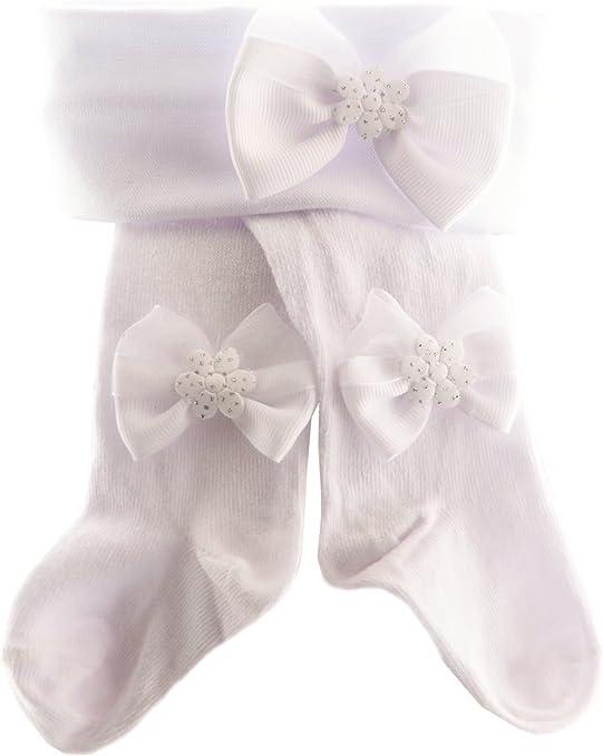 Super Qualität Baby Strumpfhose 48 50 56 62 68 74 80 86 92 98 Taufe Weiß Beige