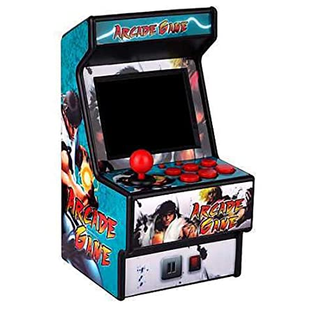 IDE Play Mini Arcade Bolardo Pac-Man Arcade Retro-Mini Juego ...