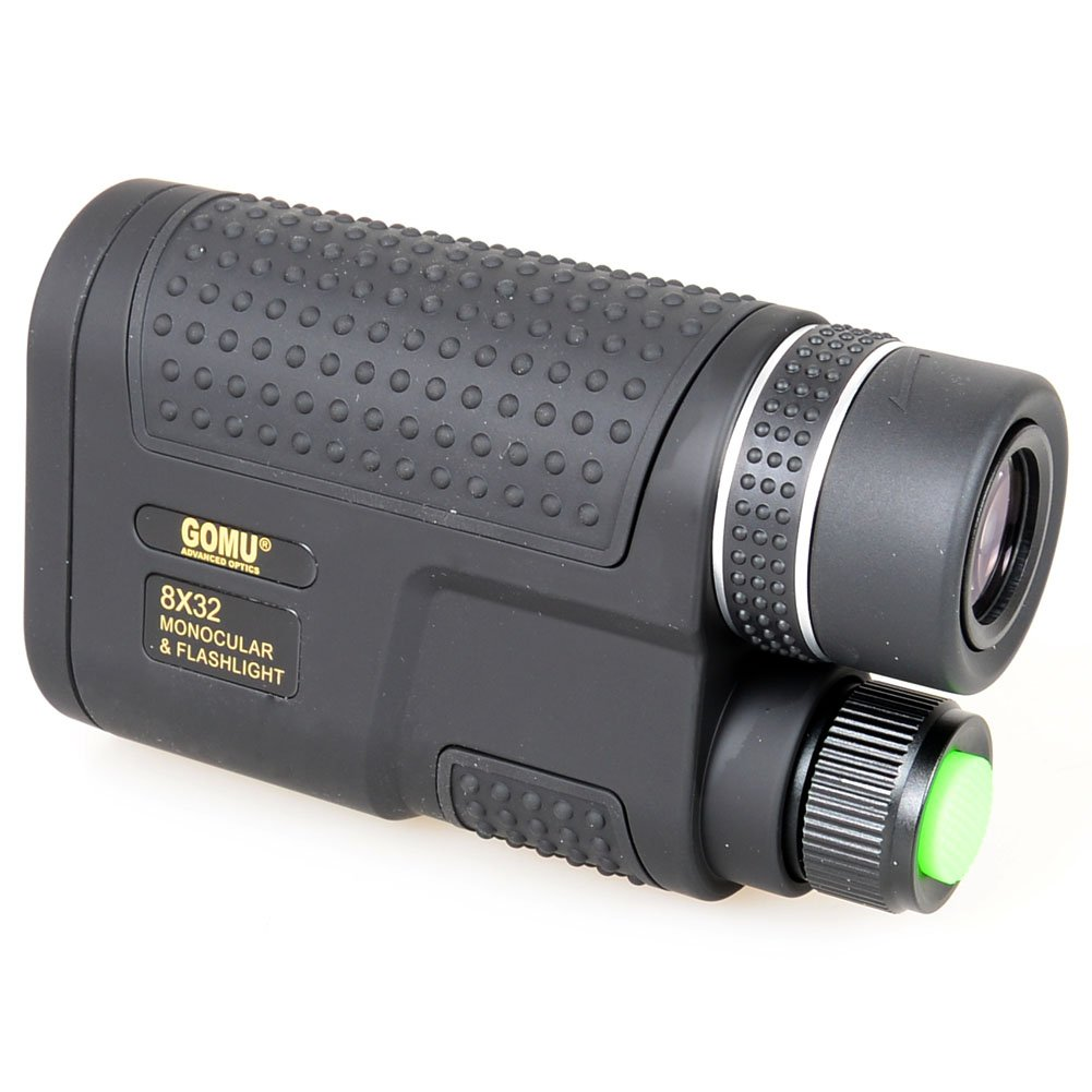 8x32 Mini Night Vision HD Monocular Telescopes Multifunctional Monocular/&Flashlight