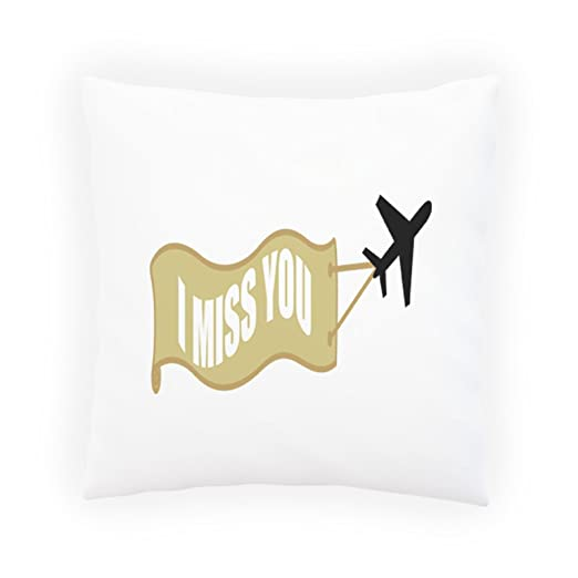 Avión piloto plano Miss U Captain Life Almohada decorativa ...