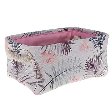 3099a9e778f6 Amazon.com: Prettyia Basket Macrame Storage Basket Canvas Laundry ...