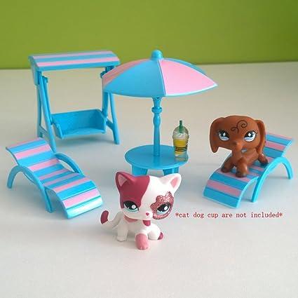 Amazon.com: Mini muebles juguetes Set Silla De Playa ...