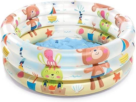 Intex 57106NP - Piscina hinchable colores con base hinchable 61 x 22 cm, 33 litros, 1 unidad [modelos surtidos]: Amazon.es: Juguetes y juegos