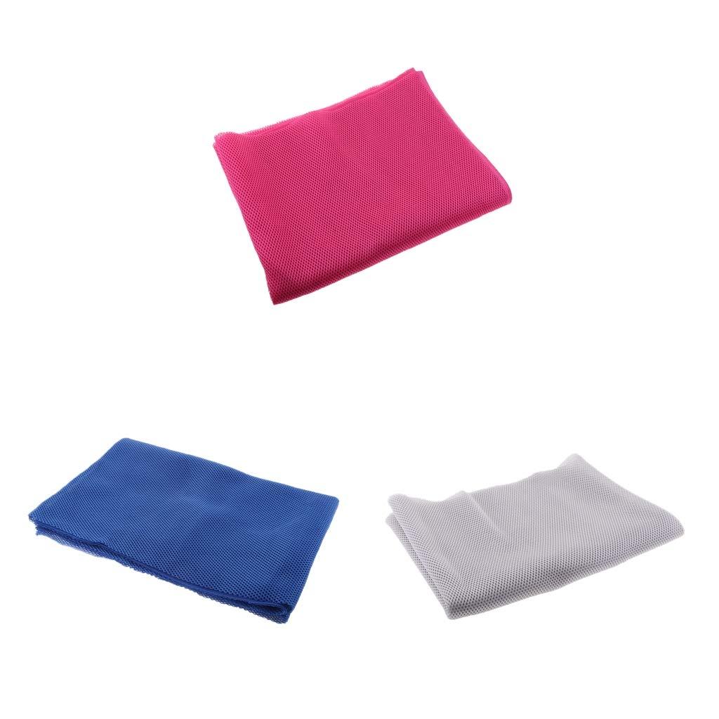 D DOLITY 3 Unids Funda Resistente al Polvo, Protección para Altavoces, 1.4 x 0.5 m, Azul + Blanco + Rosa
