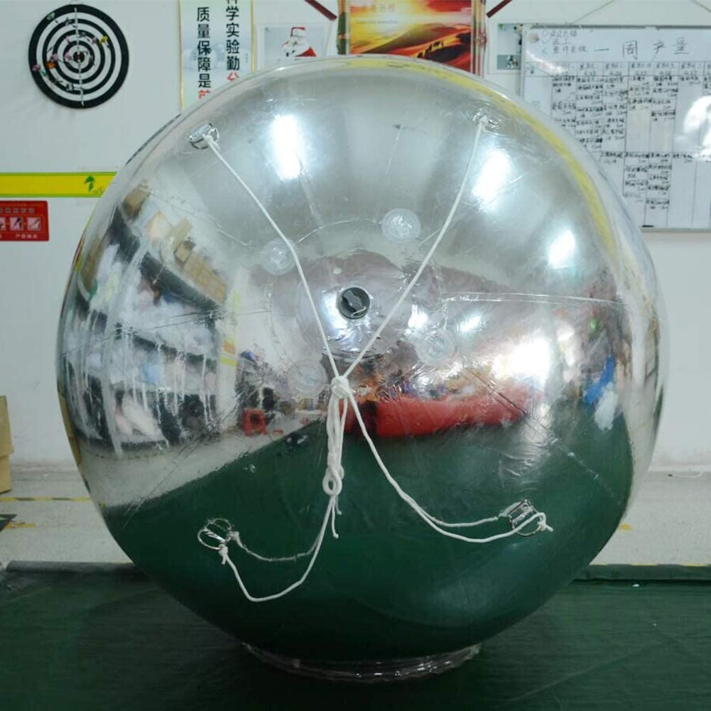 Gold, 3.28ft, 1PC SAYOK Inflatable Mirror Ball Inflatable Mirror Spheres for Party//Show//Commercial//Advertising//Shopping Mall Decoration