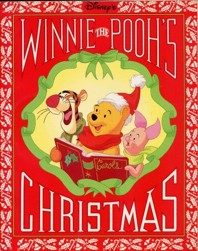Disney's WINNIE THE POOH'S CHRISTMAS written by Bruce Talkington (1991 Softcover 8 x 10 inches, 46 pages Disney Press)