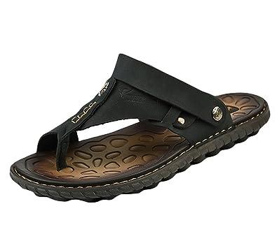 Insun Herren Zehentrenner Outdoor Sandalen Slides