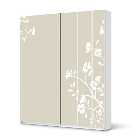 Furniture Decal Sticker IKEA PAX Wardrobe 201 cm Height