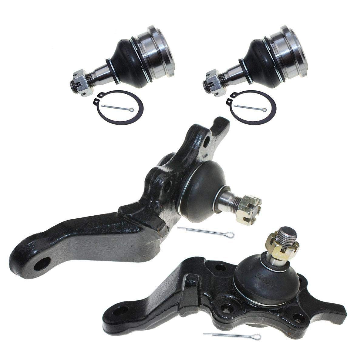 2 Sway Bar Compatible with 1996 1997 1998 1999 2000 2001 2002 Toyota 4Runner K90255 EV433 K90681 K90262 ES3547 2 Inner 2 Outer Tie Rod End DLZ 10 Pcs Front Suspension Kit-2 Lower 2 Upper Ball Joint
