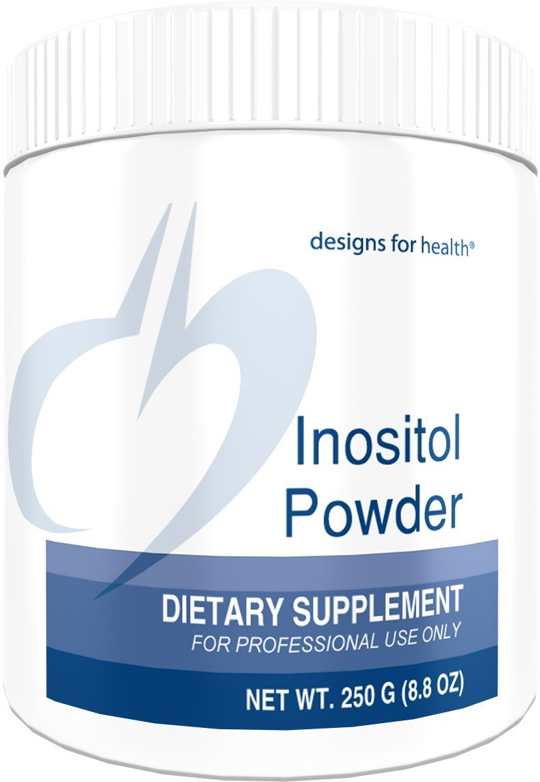 Designs for Health - Inositol Powder - 700mg, Mood + Relaxation + Hormone Support, 250 Grams