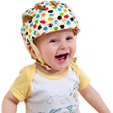 ELENKER Baby Children Infant Adjustable Safety Helmet Headguard Protective Harnesses Cap Colorful