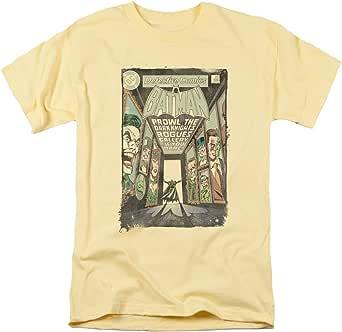 Batman DC Comics Rogues Gallery Cover Joker Riddler Penguin Ivy Adult T-Shirt