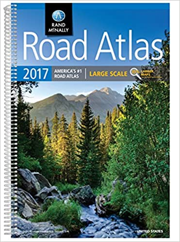 2017 Road Atlas Large Scale Rand Mcnally Large Scale Road Atlas USA: Amazon.es: Rand Mcnally: Libros en idiomas extranjeros