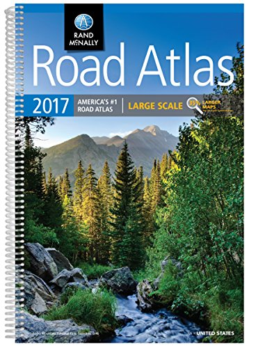 Road Atlas 2017: Large Scale