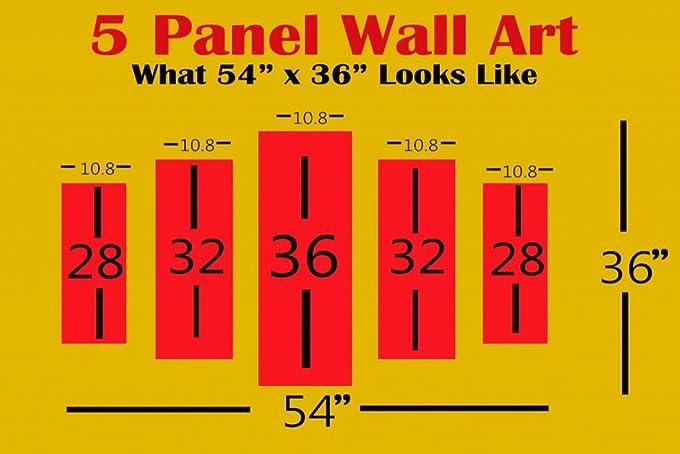 Amazon.com: MacJac Art 5 Panel Jack Daniels Theme Wall Art Model ...