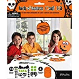 Jack-O-Lantern Halloween Trick or Treat Party Art and Craft Activity Kit, Paper, Pack of 4.