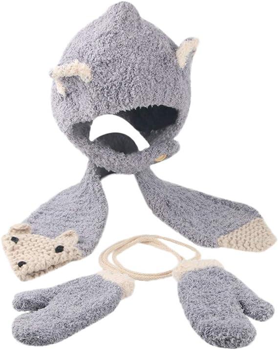 """3pcs 1//6 gris bonnet chapeau pour hommes hiver chaud pour 12 /""""accessoire de"""