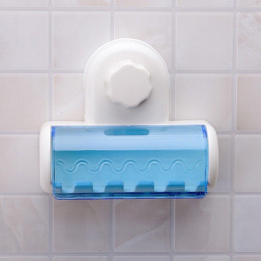 5 Soporte de cepillo Soporte de cepillo de dientes para ba/ño con antibacteriano INCHANT Soporte de cepillo de dientes para montaje en pared con tapa