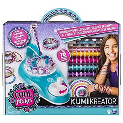 Cool Maker KumiKreator Friendship Bracelet Maker, Quick & Easy Activity Kit for Kids Ages 8 and Up: Toys & Games