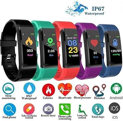 Imagen deROCONAT Moda Impermeable Monitor de frecuencia cardíaca Bluetooth Smartwatch Regalo Smartwatches