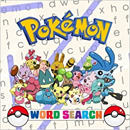 pokmon word search 66 word searchs which contain all 807 pokmon from the 1st to the 7th generation andy jackson 9781983940965 amazoncom books - Pokemon Word Search