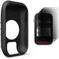 TUSITA Protective Cover for Polar V650, Silicone Skin Case with Screen Protector for Polar V650 GPS Bike Computer