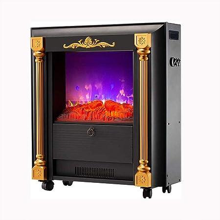 Amazon.com: LMDH - Estufa eléctrica con efecto de llama 3D ...
