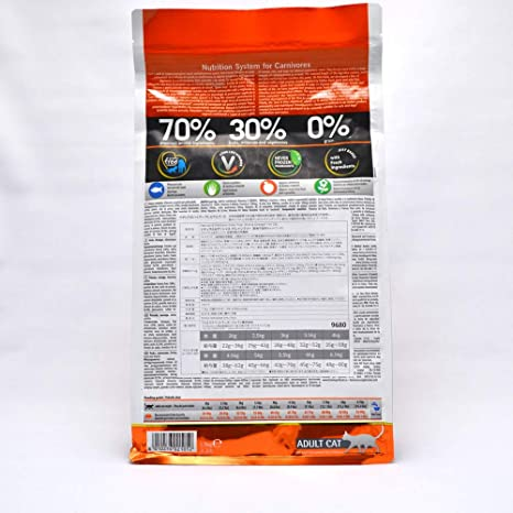 FARMINA - N&D, sin Cereales, alimento para Gatos, con Pescado y Naranja, 5 kg: Amazon.es: Productos para mascotas