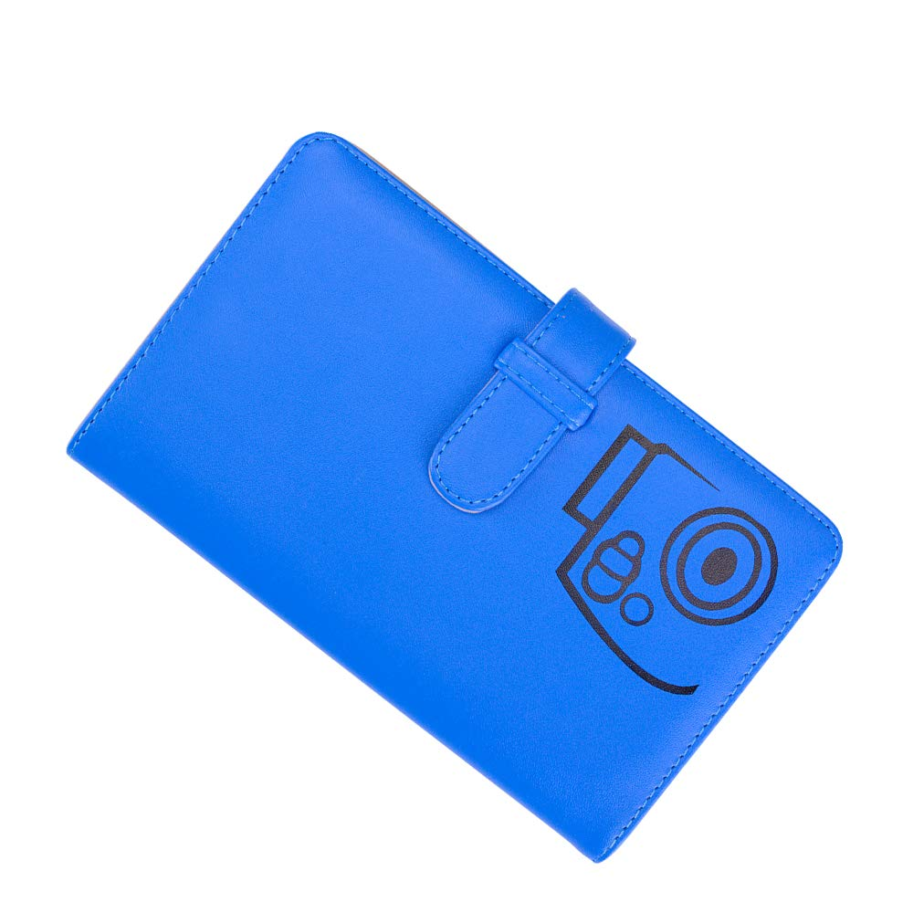 25 26 50s 7s 70 90 Fotocamera istantanea e targhetta Blu Cobalto Boogooa 108 Tasche Mini Album Fotografico per Fujifilm Instax Mini 9 8 8