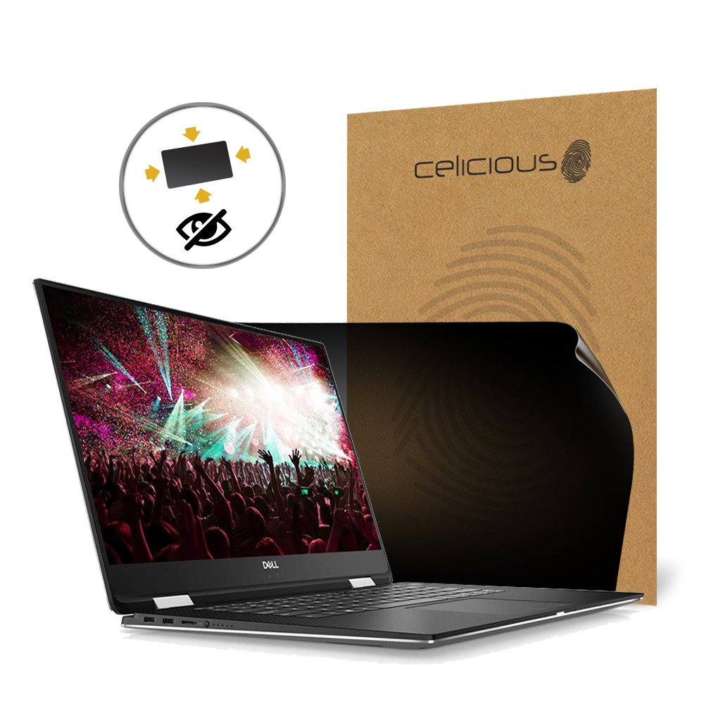 Celicious Privacy Plus 4-Way Anti-Spy Filter Screen Protector Film Compatible with Dell XPS 15 9575 by Celicious (Image #1)