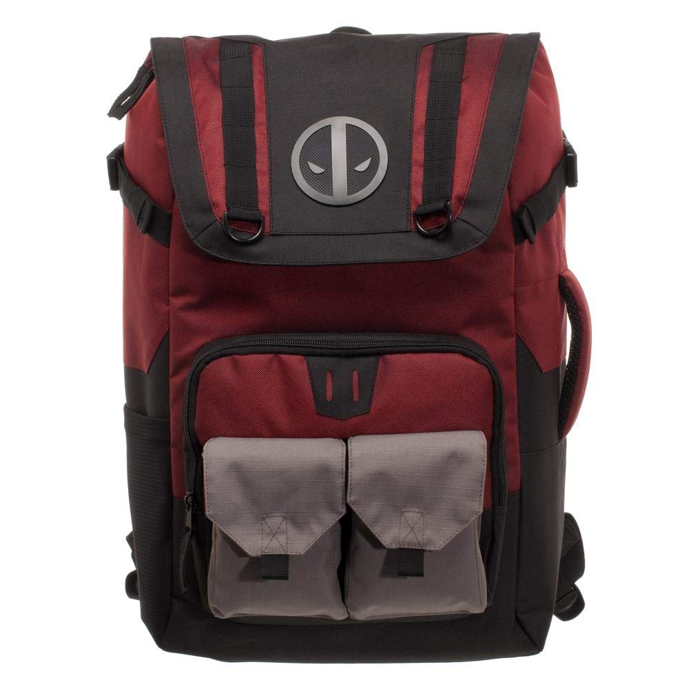 Bioworld Merchandising   Independent Sales Deadpool nero Red Backpack Standard