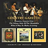 Live/Sunny Side/What A Way /  Country Gazette