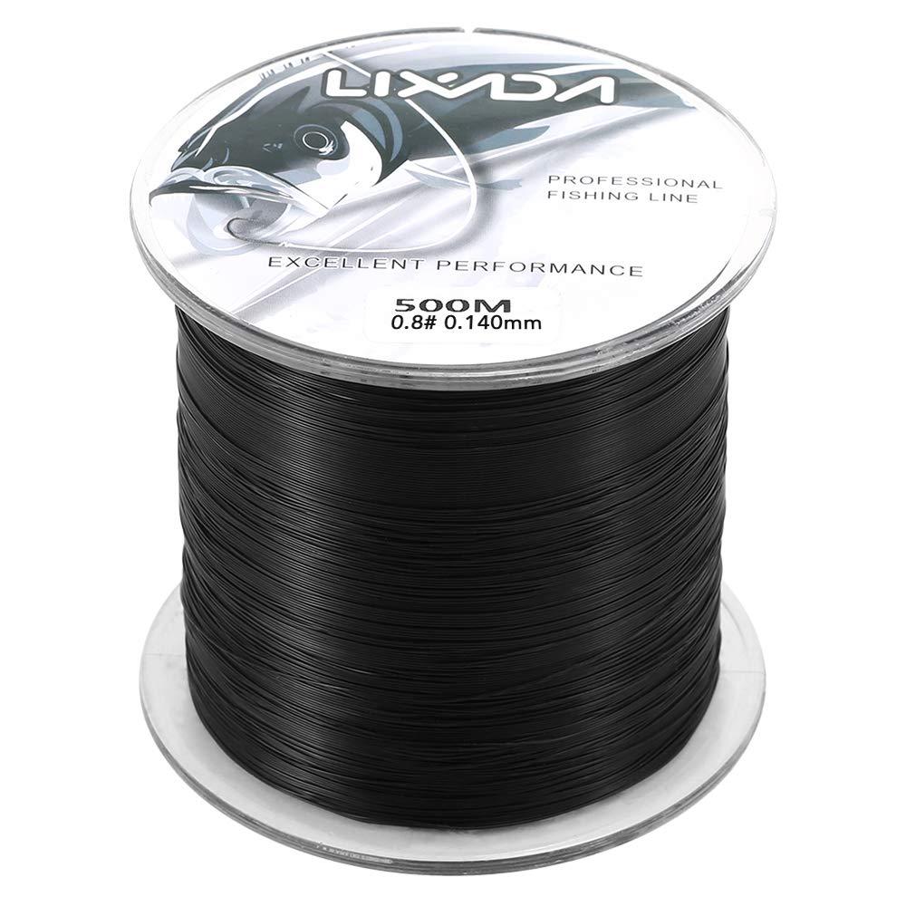 Godyluck 500m 0.8-8.0 Nylon Fishing Line Durable Monofilament Rock Sea Fishing Line Thread