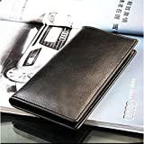 JaneDream New Super Cool Fashion Wallet Mens Long Leather Wallet