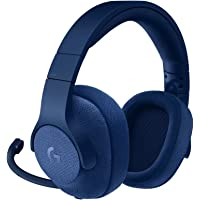 Logitech G433, Casque Gaming Filaire, son Surround 7.1, pour  Nintendo Switch, Xbox One, PS4, Switch, PC & Mobile (Bleu)