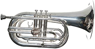 RS Berkeley MAR679-Siver Plated- Marching Baritone Horn
