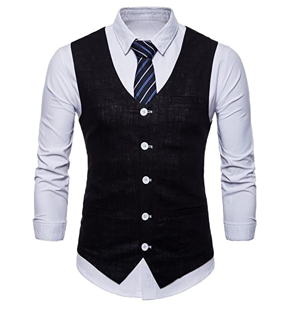 Amazon.com: Para hombre Casual Slim Fit elegante traje 6 ...