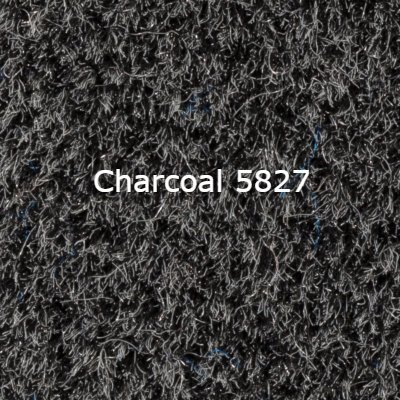 Standard 16 OZ Cut Pile Boat/Marine Carpet - Choose your length, width, and color! Made and shipped in the USA - Quality Guaranteed - Lowest Prices Online (Charcoal 5827, 8ft W x 30ft L)