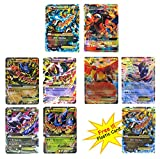 EX Mega Pack Charizard Mega EX & GX in Box Case with Lucario Gallade Latios Hercross and Ho-Oh Greninja EX Free Charizard Mega EX Plastic Card