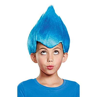 Blue Wacky Child Wig, One Size Child: Toys & Games
