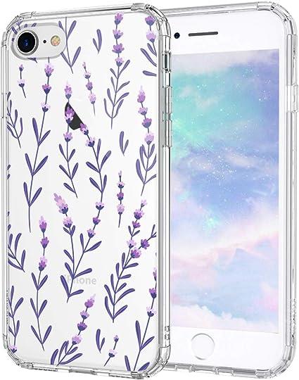 MOSNOVO Cover iPhone SE 2020/iPhone 8/iPhone 7, Lavenders Fiori ...