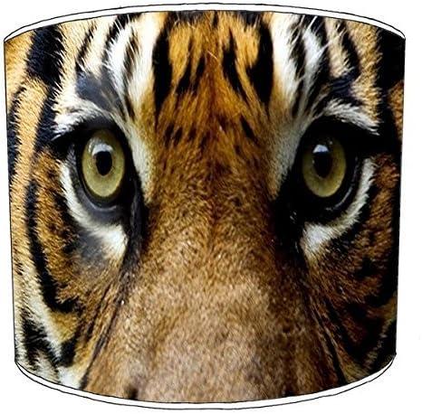 Premier Lampshades 20,3/cm Table Tiger Cat Print Abat-Jour 3 20,3 cm
