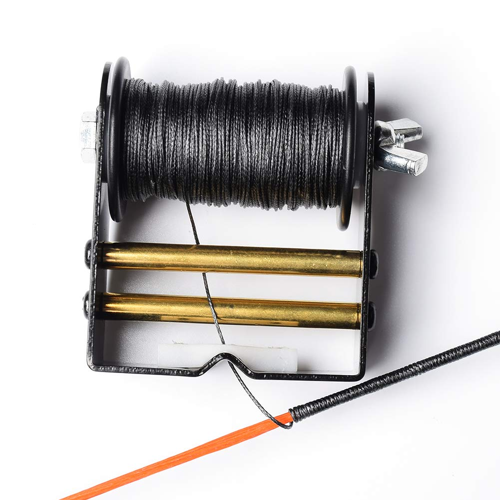 "ASD Bow String Serving Thread Serving Jig 98.5 Foot spools (30 Meter/Roll) 0.018""/0.021"" Diameter Archery Tools for Recurve Bow Compound Bow Bow String(Pack of 1)"